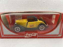 Hartoy Inc. Mint 1979 Coca Cola Roadster Die Cast 118 Made In France Solido