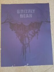 Grizzly Bear Band Promo Litho/poster Rare Daniel Rossen Dept. Of Eagles
