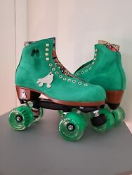 Moxi Roller Skate Lolly Green Apple Size 7 Womenandrsquos 8-8.5 New 2021 Model