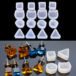 2xwomen Clear Silicone Mold For Making Jewelry Earrings Diy Mold Resin Moldsyjh2
