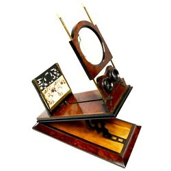 Antique Stereoscope Graphoscope Stereoviewer, French, 1890s