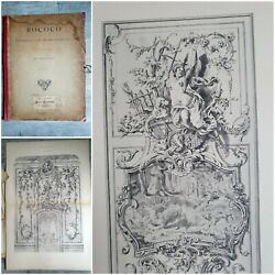 6 Engravings Xix Anddeg Rococo Ornaments And Decoration Of Wilhelm Huber / Ch.claesen