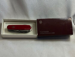 Victorinox Swiss Army Knife Officer Suiss 1980-2005 14 Tool Multi Tool In Box