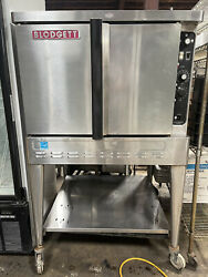 Blodgett Full Size Gas Convection Oven With Stainless Steel Stand