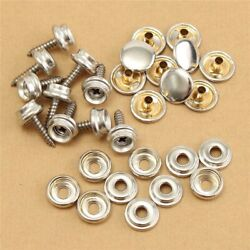 Cover Snap Fasteners Canvas Fabric Repair Kit Stud Clothing 30pcs Parts