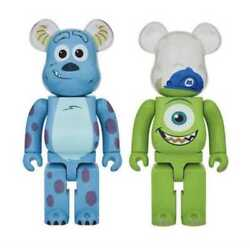 Medicom Toy Be@rbrick Sulley And Mike 1000 Monsters,inc. Disney Pixar From Japan
