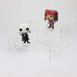 Tiered Acrylic Collectibles Display Stand - 495mm - Funko Pops - Lego - Figures