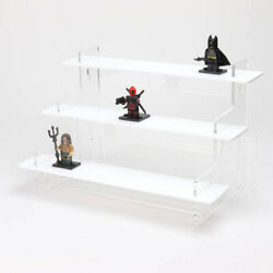 Slimline Tiered Acrylic Collectibles Display Stand - 295mm - Lego - Figures