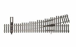 Walthers Ho Scale Nickel Silver Number 4 Turnout Track, Lh, Code 83, Dcc Frie...