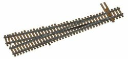Walthers Ho Scale Nickel Silver Number 5 Turnout Track, Rh, Code 83, Dcc Frie...