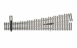 Walthers Ho Scale Nickel Silver Number 5 Turnout Track, Lh, Code 83, Dcc Frie...