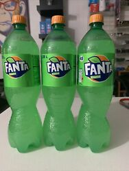 Exotic Soda Fanta Tropical Very Rare And Limited. 3 Pack Of 1.5 L Bottles.