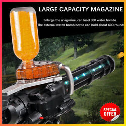Electric Gel Blaster Toy Gun Water Crystal Kids Toy Gift + Toy Bullets Outdoor
