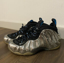 Nike Air Foamposite One AS QS Mirror Size 9 744306 001 All Star Men's Grey USED