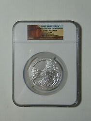 2010 P Grand Canyon Atb 5 Oz Early Release Ngc Sp68 / Light Finish / Pop Of 34