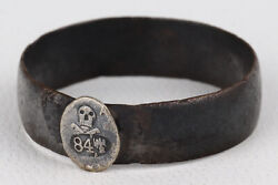 Shock Troops Ring Ww1 Special Force Wwi Skull And Bones Russia Russian Empire Rare