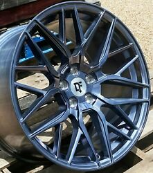 20 Arctic Forged Downforce Dc10 Wheels 20x9 20x11 5x114.3 Flow Formed Staggered