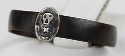 Shock Troops Ring Ww1 Special Force Wwi Skull And Bones Sterling Silver Fragment