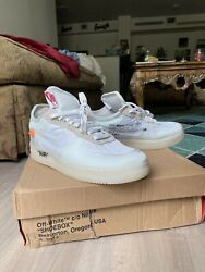 Size 9 - Nike Air Force 1 Low X Off-white