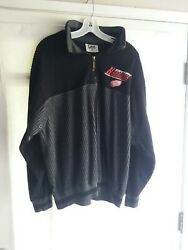 Detroit Red Wings Lee Sport Lrg 1/2 Zipper Stitched Sweater Pullover - Gorgeous