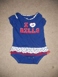 Buffalo Bills Nfl Football Onepiece Top Infant Baby Girl 24 Months This Year W@w