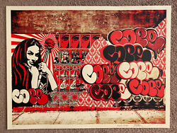Obey X Cope2 X Cooper Print By Shepard Fairey Signed And Numbered