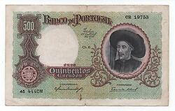 Portugal 500 Escudos 1938 Pick 151 Look Scans