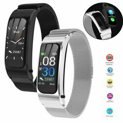 2 In 1 Bluetooth Smart Watch Headset Bracelet Phone Mate For Iphone Samsung Moto