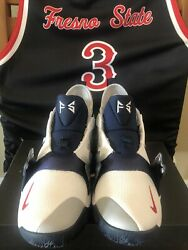 Nike Mens Pg Pe Fresno State Bulldogs Team Player Exclusive Issued 8