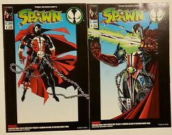 Spawn And Medieval Spawn Todd Toys Comic Books Set Of 2 Image Comics 1994