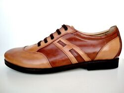Cq Made To Order Italy Shoes Luxury Hand Sport Leather Custom Brown 10-26 40-56