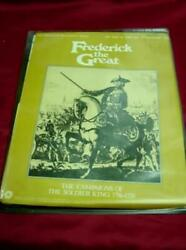 Spi - Frederick The Great - Campaigns Of The Soldier King 80 Unpunched Tray