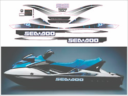 Seadoo Gtx 2008 Graphics / Decal Replacement Kit