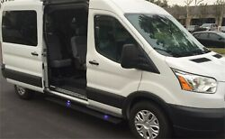 Amp Research 76259-01a Powerstep Electric Running Boards For 14-18 Ford Transit