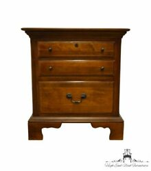 Sumter Cabinet Solid Cherry Traditional Style 24 Three Drawer Nightstand 9305