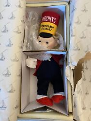 Hershey's Porcelain Chocolate Soldier Doll New In Box Serial Numbered 1996