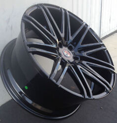 22and039and039 Inch Wheels Curva C48 Concave Rims Tires Black Fits Bmw 550 645 650 745 750