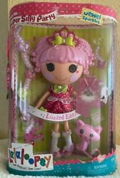 New In Box Lalaloopsy Jewel Sparkles Super Silly Party 12 Doll W Pet Pink Cat