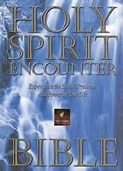 New Living Holy Spirit Encounter Bible Experience The Spirit's Presence And Pow