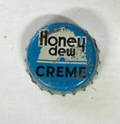 Soda Cap Crown Honey Dew Cream Cone Can Flat Bottle Top Acl Quench Seattle Tin