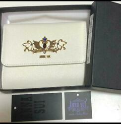 Anna Sui X Sailor Moon Wallet Neo Queen Serenity White Rare Item Isetan Limited