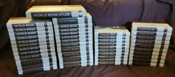 45 Book The World Book Encyclopedia Set 1972, Atlas, Science, Yearbook