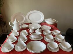 53pcsroyal Albert Val D'or China Set Never Used