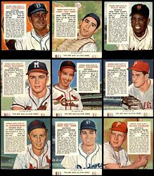 Red Man Tobacco 1954 Red Man Partial Complete Set 3 - Vg