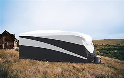Camco 56364 Rv Cover Pro-tec Tm} For Toy Hauler Trailersfits 30 Ft To 33and039 6 L