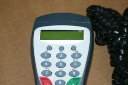 Hypercom S9 Pin Pad Terminal And Cable For Debit Card Keypad Transactions Pinpad