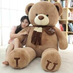 180cm Andldquoi Love Youandrdquo Teddy Bear Plush Toy Hugging Pillow For Special Gifts