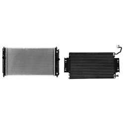 Radiator And A/c Condenser Kit For Chevy Classic Oldsmobile Alero