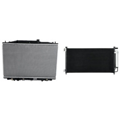Radiator And A/c Condenser Kit For 2005-2007 Honda Accord