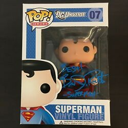 Brandon Routh Signed Autographed Funko Pop 07 Superman